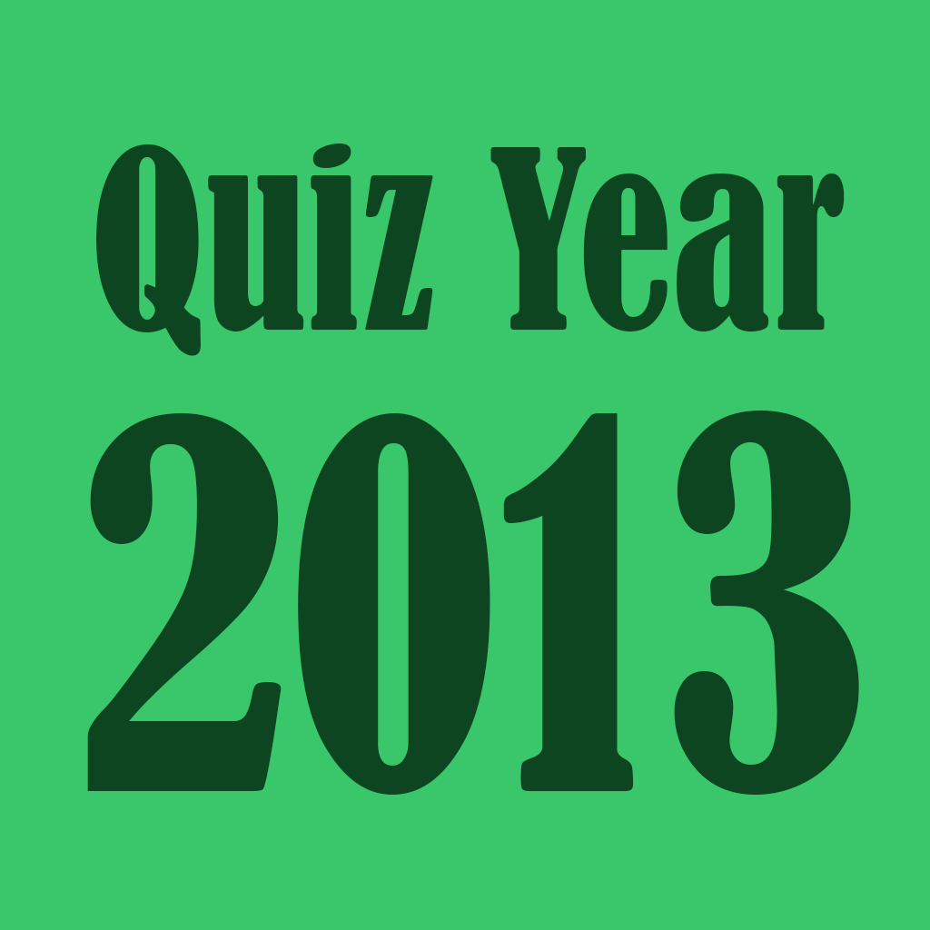 Quiz of the Year 2013